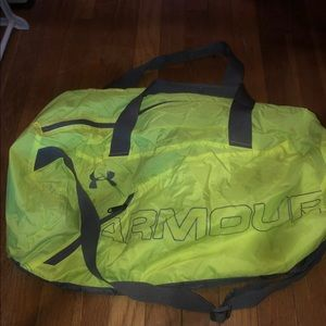 Under Armour Neon Duffle Bag